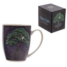 "Tree Of Life by Lisa Parker - Bone China Mug - 4"" New"