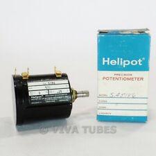 Nos Nib Vintage Helipot Model Sa5186 Precision Potentiometer 500 Ohm