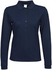 Camisas y tops de mujer de manga larga color principal azul talla L