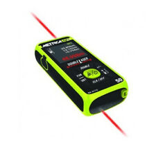 METRICA | Flash Mini 50 | Misuratore Double Laser 50mt | Distanziometro 0.05-50m