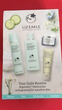 Liz Earle your daily routine superskin moisturiser unfragranced set RRP £82