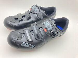 New Sidi Trace 2 MEGA MTB Cycling Shoe Black Size 44 EU / 9.5 US