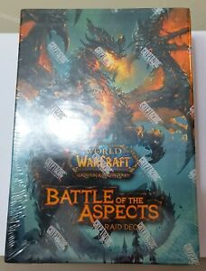 WOW Warcraft TCG Battle of The Aspects Raid Deck Factory Sealed - Original One