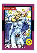 Impel 1992 X-Men Series 1 (I) Base Card #64 Super-Villains Saturnyne