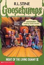 Night of the Living Dummy III (Goosebumps, No 40) by R. L. Stine, Good Book