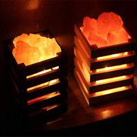 Himalayan Salt Lamp Rock Natural Crystal Pink Small Ionic Stone Night Light SPA