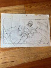 Akira Genga Original Pencil Drawings Kaneda Keyframe Anime Cel Katsuhiro Otomo