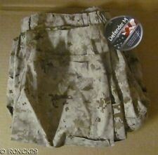 "NWT USMC Frog Pants Desert Digital Defender ""M"" Medium Long "" (147)"