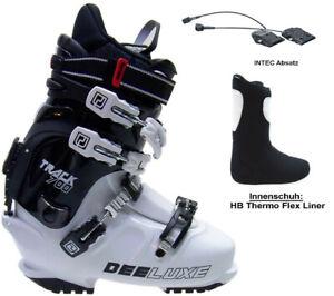 DEELUXE TRACK 700T white HP Flex thermo Innenschuh Snowboardschuh HARDBOOTS