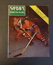 Sport Revue Avril 1957 -C- Fontinato H Richard Jack Evans Dickie Moore Avr '57