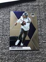 Lamar Jackson 2020 Mosaic Base No. 19 Baltimore Ravens