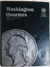 Whitman Washington Quarter #2 1948-1964 Coin Folder, Album Book #9031