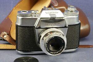 Voigtländer Bessamatic CS & Color-Skopar 2,8 x 50mm SLR Spiegelreflex 60er Jahre