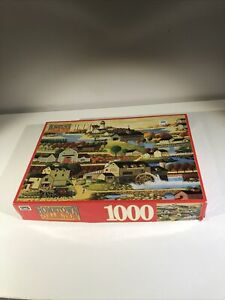 Hometown Collection 1000 Piece Cider Time RoseArt Vintage 1996 No. 09200 Sealed