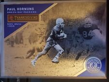 2013 Panini Totally Certified Thanksgiving Day #96 Paul Hornung BLUE #d 69/99