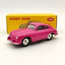 1:43 DeAgostini Dinky Toys 182 Porsche 356A Coupe Pink Diecast Models Car