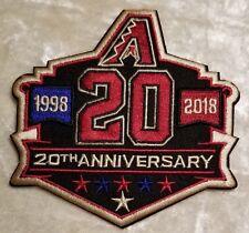 Arizona Diamondbacks 20th Anniversary Iron /Sew On Embroidered Patch~FREE SHIP!~