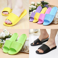 Men Women EVA Home Indoor Hotel Bathing Shower Sandals Flip Flop Slippers Shoes