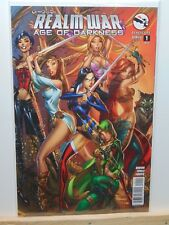 Realm War Age of Darkness #1 Cover A Grimm Fairy Tales Zenescope Variant  CB5819