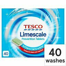 Tesco Limescale 40 Prevention Tablets 600G