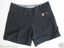 Designer Hose RIVER ISLAND Gr.8 34 Shorts HOT PANTS schwarz wie NEU/ J122