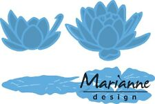 Marianne Creatables Die Cutting Embossing Stencil TINY'S WATERLILY SMALL LR0459