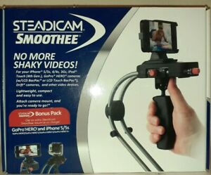 STEADICAM SMOOTHEE Stabilizer Camera Mount Go Pro HD Hero iPhone 5 5S 4 4S