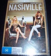 Nashville The Complete Second Season 2 (Australia Region 4) DVD – New