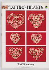 Tatting Hearts by Teri Dusenbury Dover Needlework Gift Ornament Love Valentine