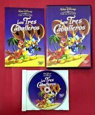 Los tres caballeros DVD - Walt Disney - USADO - BUEN ESTADO