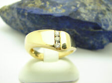 Brillant Ring 750 Gold 18 Karat Gr. 54 Brillantring Diamanten Goldring