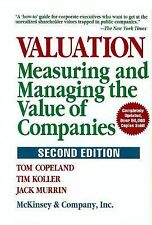 Valuation: Measuring and Managing the Value of Companies, 2nd Edition