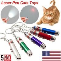 Pet Cat Kitty Fun Toys Laser Light LED Pointer Pen funny toy Training Torch US