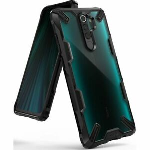 Ringke Fusion X Tough Rugged Rear Case Cover for Xiaomi Redmi Note 8 Pro - Black