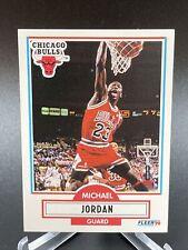 1990-91 Fleer Set # 26 Michael Jordan EX-EXMINT Bulls LitCards🔥 Qty HOF