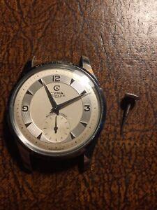 Cyma Triplex Vintage Wrist Watch For Repair