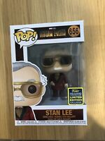 Marvel Studios Iron Man Stan Lee 2020 SDCC Exclusive Funko Pop Vinyl