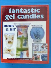 FANTASTIC GEL CANDLE MAKING KIT BOOK & KIT, NEW IN BOX