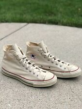 VTG 60's-70's Converse Chuck Taylor Blue Label Canvas Sneakers USA Made 10.5