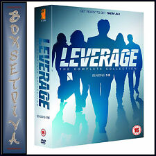 LEVERAGE - COMPLETE COLLECTION - SEASONS 1 2 3 4 & 5 **BRAND NEW DVD BOXSET***