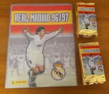 ALBUM LIGA REAL MADRID 96/97 + 24 SOBRES (144 CARDS). TRADING CARDS. PANINI