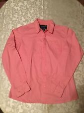 Wrangler Western Shirts Ladies Size small pink&black  Breast Cancer Awareness