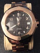 Tresor Paris Precision Stainless Steel Analogue Wristwatch with Diamond