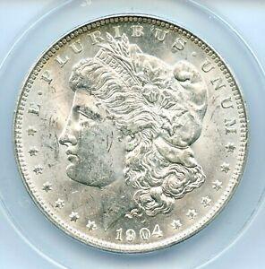 1904-O Morgan Dollar, ANACS MS62