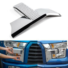 For Ford F150 2015+ Car Front Bumper Headlight Grille Cover Trim Accessories ABS