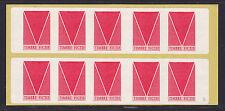 Vignettes expérimentales TF1Cd carnet de 10 timbres, cote: 60.00 €