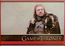 GAME OF THRONES - Season 1 - Card #01 - WINTER IS COMING - Rittenhouse 2012