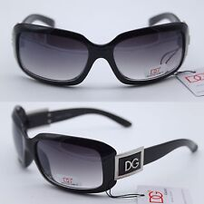 NEW DG EYEWEAR WOMEN'S ELEGANT DESIGNER SUNGLASSES BLACK