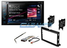 "PIONEER 6.2"" TOUCHSCREEN DOUBLE 2 DIN CAR STEREO W/ COMPLETE DASH KIT & HARNESS"