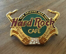 Hard Rock Cafe New Orleans Jazz Fest 1998 Sax Pin